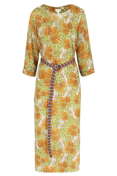 Améline Robe tunique à imprimé jungle 1
