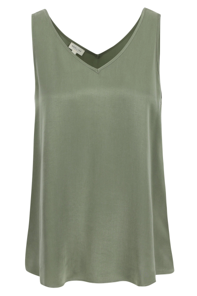 Améline Top évasin en satin  1