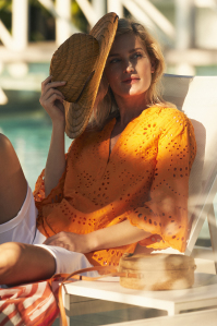 Mayerline Blouse in broderie anglaise 4