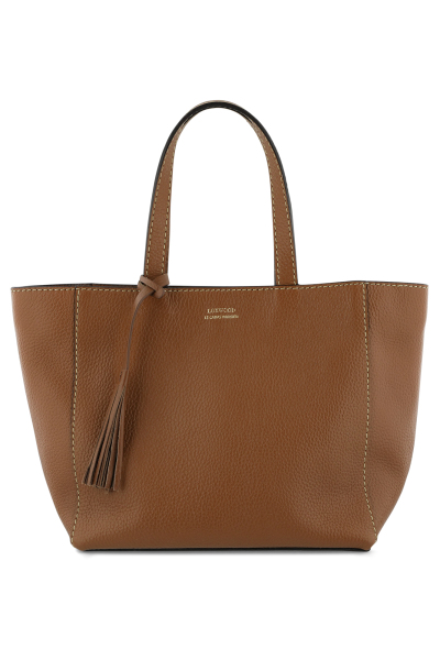 Mayerline Kleine tote bag in korrelleer met saddle stitch 1