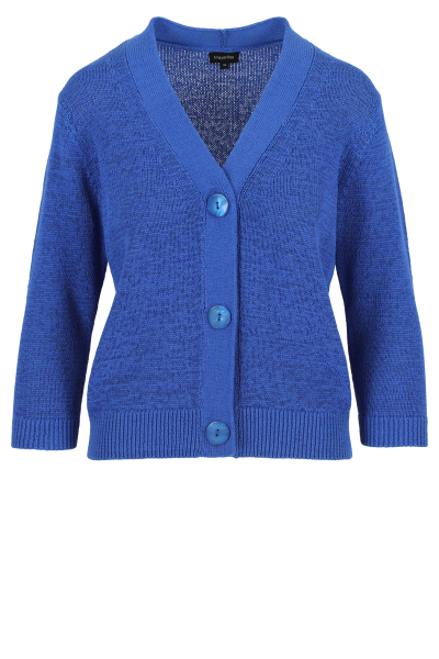 Mayerline Korte cardigan in lintjesgaren 1