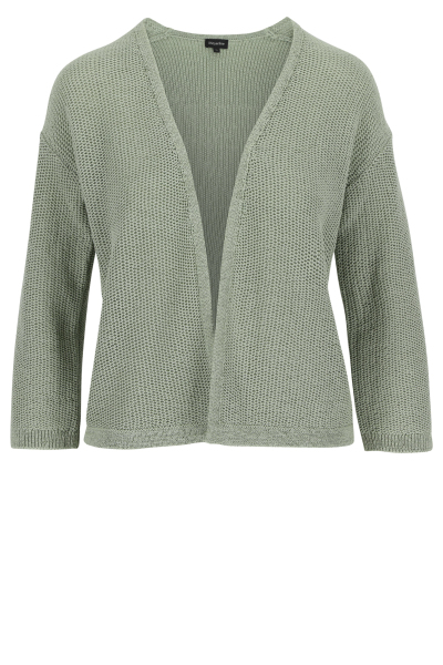 Mayerline Korte open cardigan in lintjesgaren 1