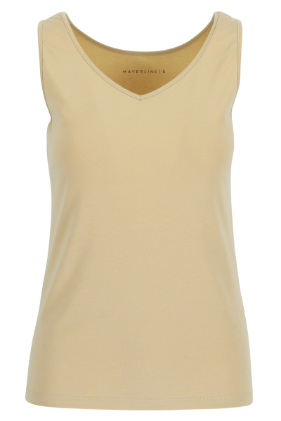 Mayerline Top stretch en mélange coton peigné 1