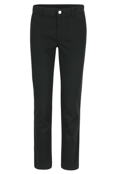 Mayerline Zwarte chino met stretch  1